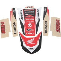 HONDA CR 125 R / CR 250 R - 04/08 - KIT STICKERS UNIVERSEL TRIM - 4302-3651