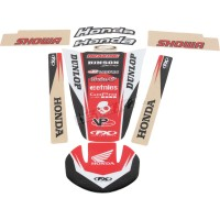 HONDA CR 125 R / CR 250 R - 00/03 - KIT STICKERS UNIVERSEL TRIM - 4302-3650
