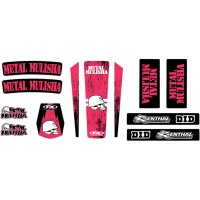 HONDA CR / CRF - KIT STICKERS UNIVERSEL MULISHA - 4302-6037