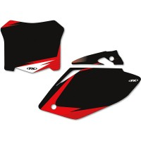 HONDA CRF 250 R - 14/17 / CRF 450 R - 13/16 - STICKERS PLAQUE / CACHES - 4310-0716
