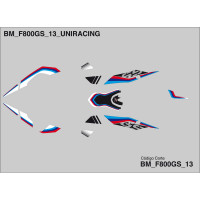 BMW F800 GS - 13/18 - DECO CARENAGE -4301-0775