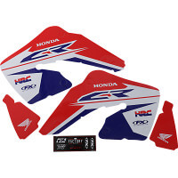 HONDA CR 125 R / CR 250 R 00/01 - KIT DÉCO FX FACTORY EVO17 - 43025990