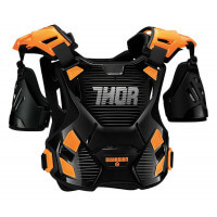 PARE-PIERRE MOTO CROSS ENFANT THOR GUARDIAN 2XS/XS 3-5 ANS -ORANGE NOIR -2701-0804 PRO DER