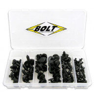 COFFRET DE RIVETS PLASTIQUE BOLT CARENAGES MOTO - 893443
