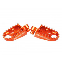 COMPATIBLE RR / TC / SE-R - PAIRE DE REPOSE PIEDS SCAR ORANGE S5510OR