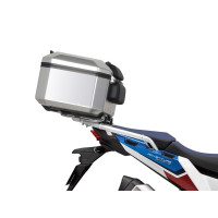 HONDA AFRICA TWIN ADVENTURE SPORTS CRF 1100 L -20/21- PORTE BAGAGE SUPPORT ET TOP CASE TERRA TR48 SHAD