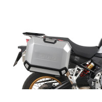 BMW F750 GS -18/20 / F850 GS ADVENTURE -19/21- SUPPORTS ET VALISES SHAD TERRA 4P SYSTEM