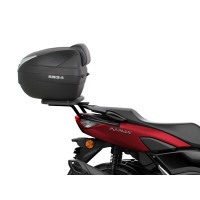 YAMAHA 125 N-MAX -2021- PORTE BAGAGE SUPPORT et TOP CASE SH34 CARBONE SHAD