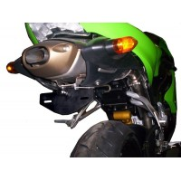 KAWASAKI ZX6R SUPPORT DE PLAQUE R&G Racing KAWASAKI ZX6R -443864