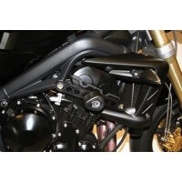 TRIUMPH 675 STREET TRIPLE PROTECTIONS TAMPONS NEUF R & G TRIUMPH 675 STREET TRIPLE-444545