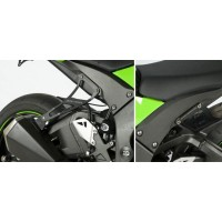 KAWASAKI ZX10R-11/19 - SUPPORT ECHAPPEMENT R&G RACING- EH0047BKA