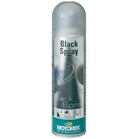 VERNIS SYNTETIQUE NOIR HAUTES TEMPERATURES BLACK SPRAY 500ML-551617
