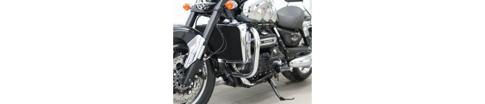 - PROTECTIONS DE CARTER CHROME OU NOIR